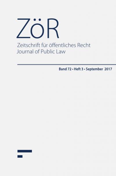 volume 72 issue 3 september 2017 - Offentliches Recht Beispiele